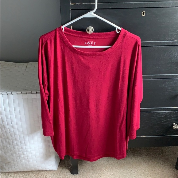 LOFT Tops - Long tunic length top